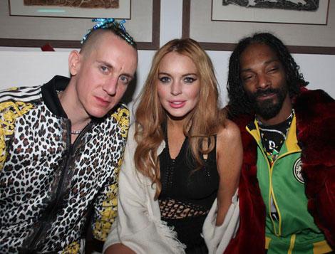 Lindsay Lohan Snoop Dogg Photo
