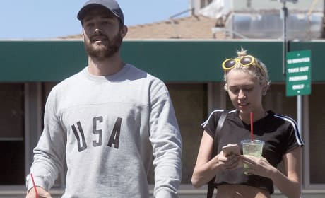 Patrick Schwarzenegger and Miley