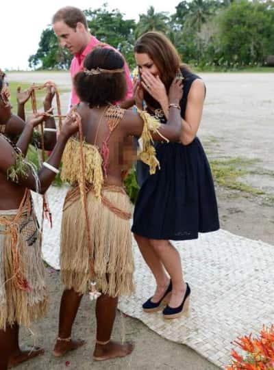 Kate Middleton in Marau