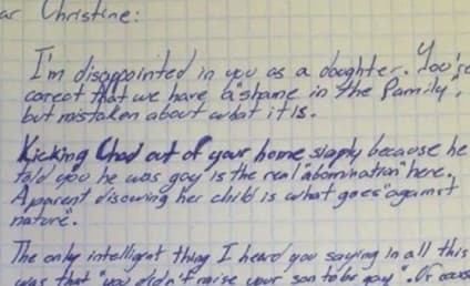 Grandpa Writes Harsh Letter to Daughter, Shames Her For Disowning His Gay Grandson