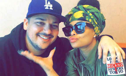 Rob Kardashian Flaunts New, SLIM Figure While Shopping with Blac Chyna!