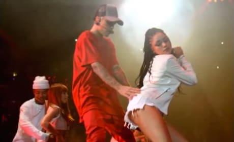 Justin Bieber Wins Big, Gets Raunchy at MTV EMAs