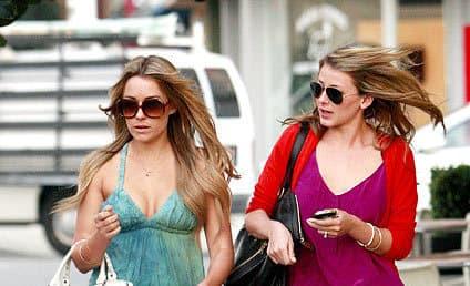 Lauren Conrad & Lo Bosworth: Fashionable BFFs