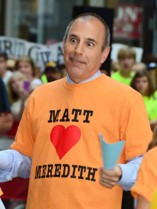 Matt Lauer Loves Meredith