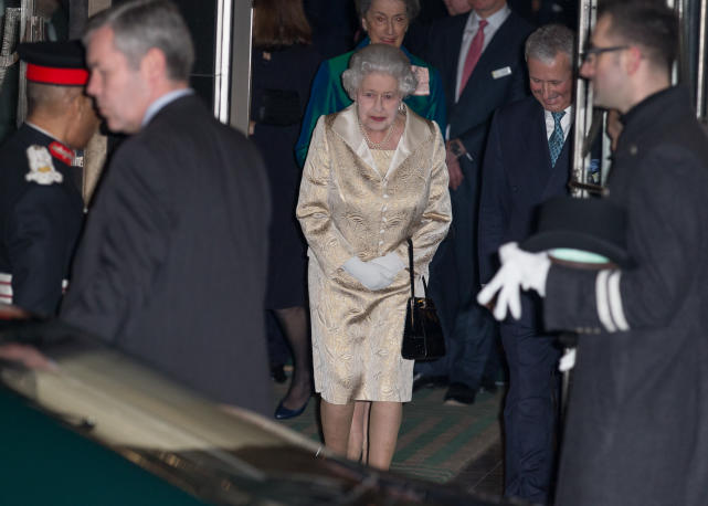 The Queen:  Final Awards Reception for Gold Service Scholarship