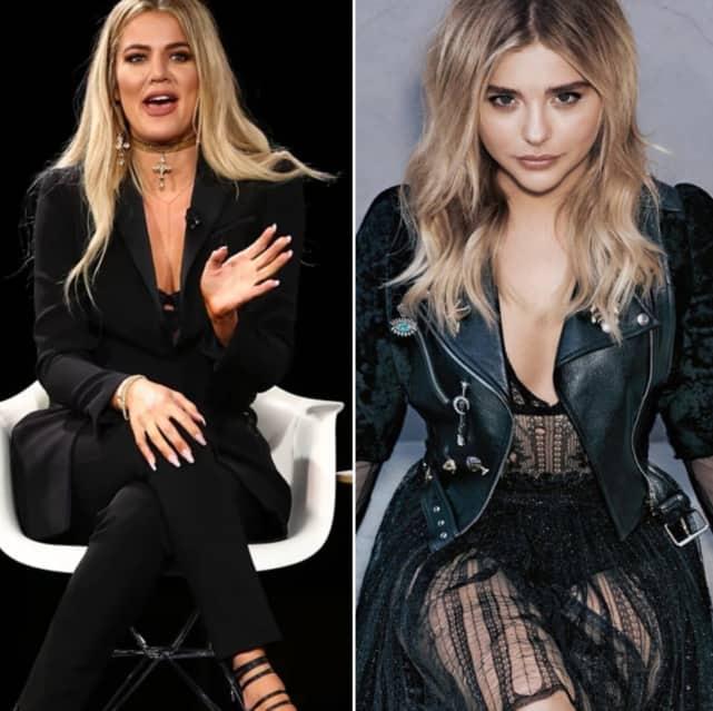 Khloe kardashian and chloe moretz