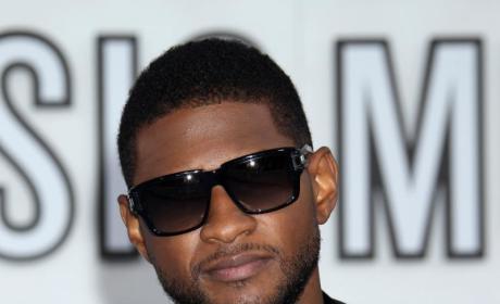 Usher at the VMAs