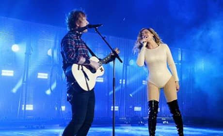 "Beyonce and Ed Sheeran - ""Drunk in Love"""