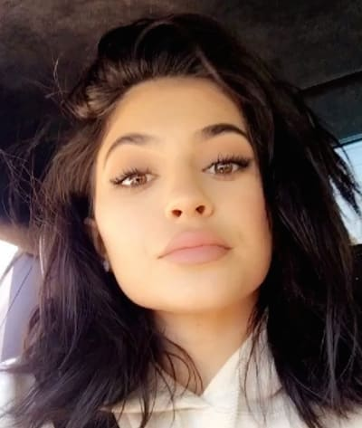Kylie in a Car