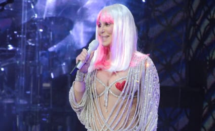 Cher, Topless & Wearing Only Nipple Pasties, Performs in Boston