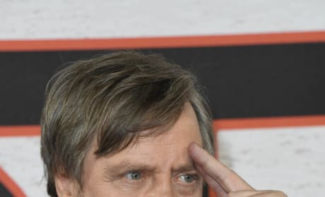 Mark Hamill at the Premiere