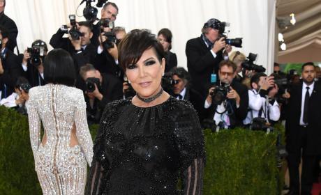 Kris Jenner: 2016 Costume Institute Gala