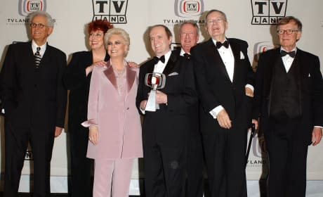Bob Newhart Show Cast TV Land Awards