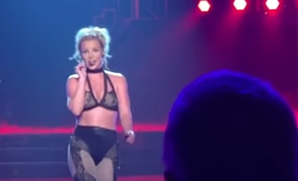Britney Spears to Men: Suck My F-ckin Toe!