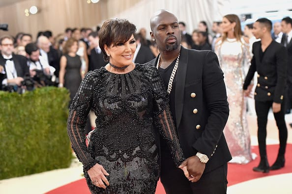 Kris Jenner And Corey Gamble Attend 'Manus x Machina: Fashion In An Age Of Technology' Costume Institute Gala