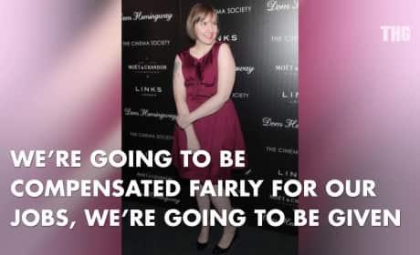 Lena Dunham Espouses Feminism