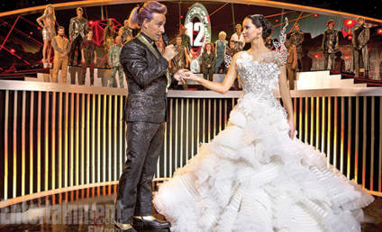 Catching Fire Photo: Katniss In a Wedding Dress!