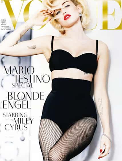 Miley Cyrus Vogue Cover