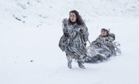 Bran & Meera On the Run