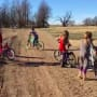 Duggar Kids on Bikes