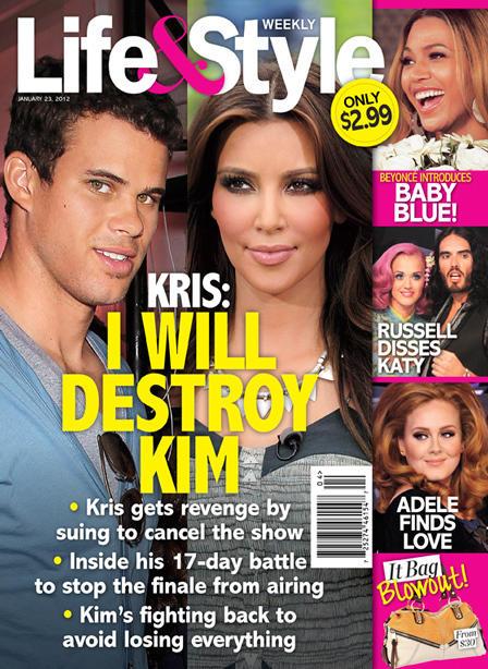 Life & Style Cover: Kris & Kim