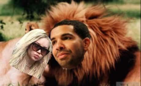 Amanda Bynes and Drake