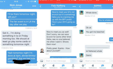 Taylor Swift Direct Messages