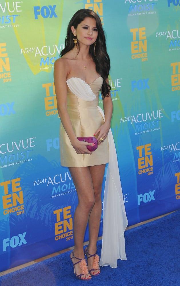 Selena Gomez at the TCAs
