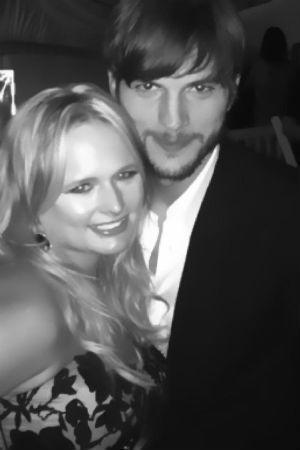 Miranda Lambert and Ashton Kutcher