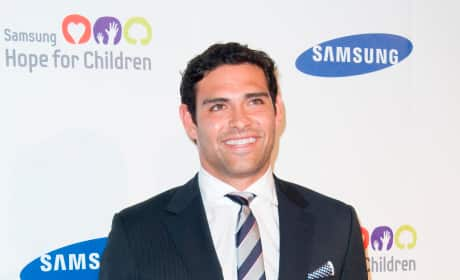 Mark Sanchez on the Red Carpet