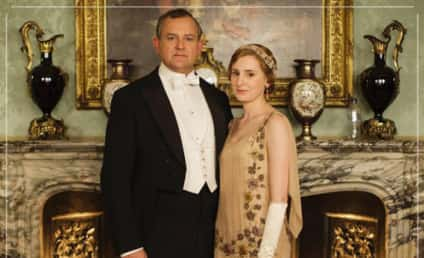 Downton Abbey Photo Fail: Anyone Feeling Thirsty?!