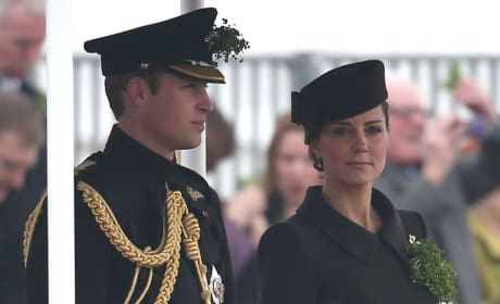 Kate Middleton and Prince William on St. Patrick's Day