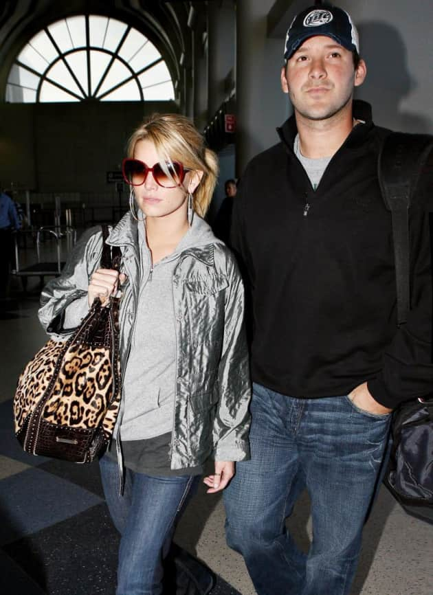 Tony Romo and Jessica Pic