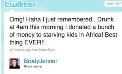 Brody Jenner: A Charitable Drunk-Dialer