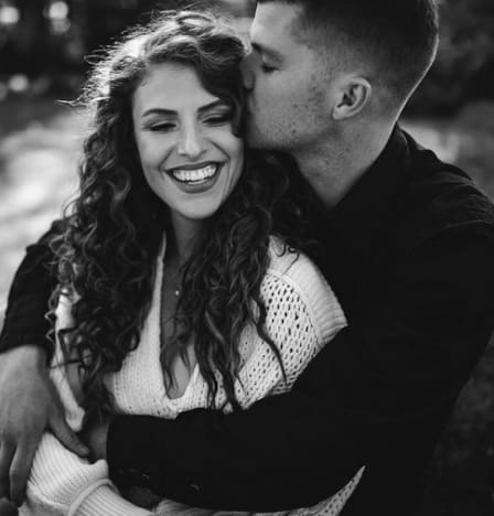 Audrey Roloff Gets Kissed