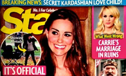 Kate Middleton: NOT Pregnant With Second Child