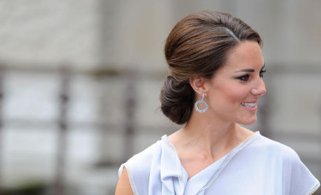 Kate Middleton: UK Creative Industries Reception 2012