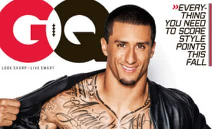 Colin Kaepernick: Shirtless on GQ Cover!