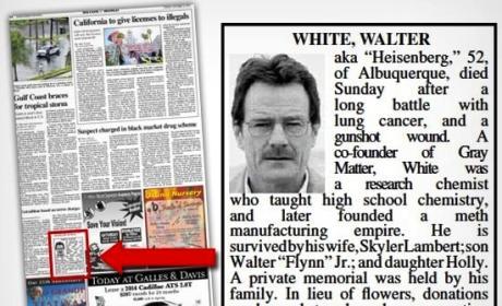 Walter White Obituary
