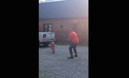 Father Returns Home from Work, Twerks with Daughter