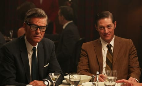 Cutler and Ted Mad Men