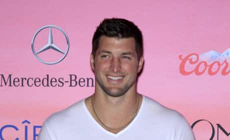 Tim Tebow on the Red Carpet