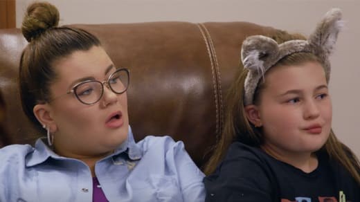 An image of Amber Portwood and Leah Shirley