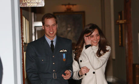 Kate and Will: RAF Graduation Ceremony