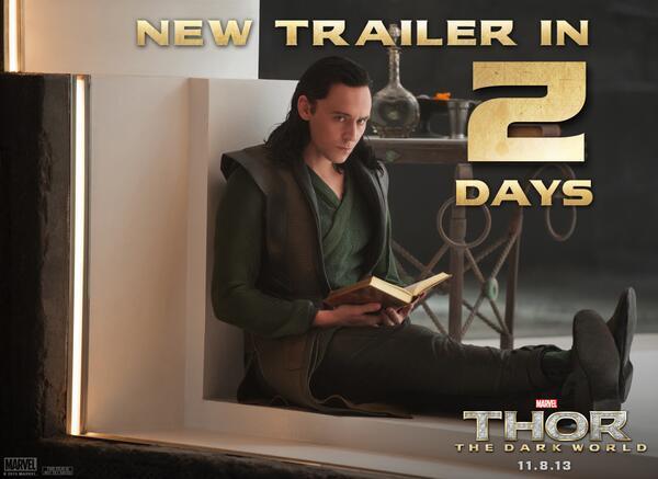 Thor: The Dark World Trailer Announcement Image