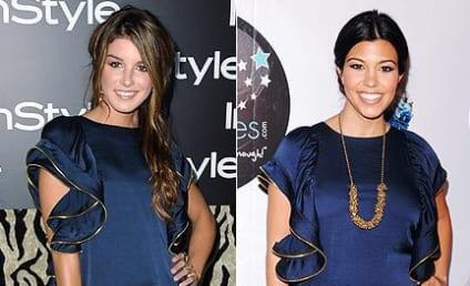 Fashion Face-Off: Shenae Grimes vs. Kourtney Kardashian