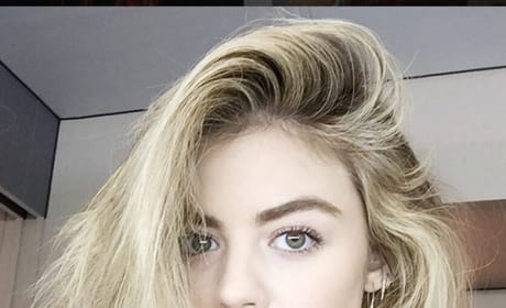 Lucy Hale, Blonde Hair