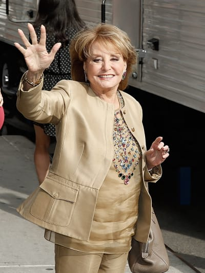 Barbara Walters Waves