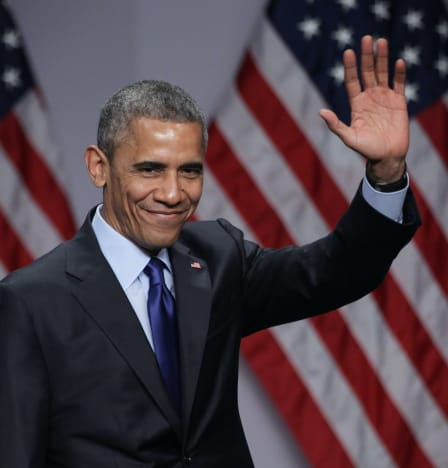 Barack Obama Says Hello