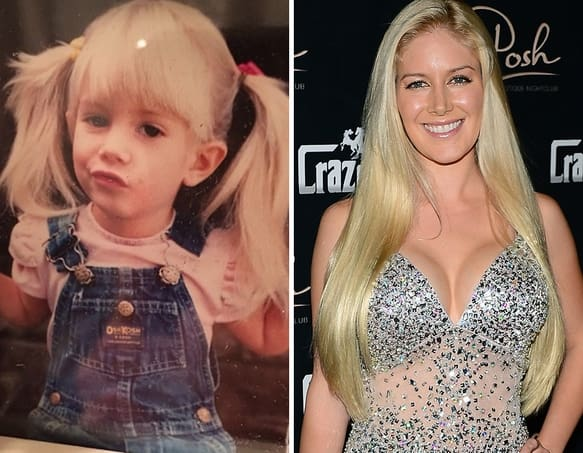 Heidi Montag as a Kid